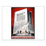 Books Are Weapons Poster Art Small Poster