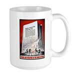 Books Are Weapons Poster Art Large Mug