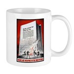 Books Are Weapons Poster Art Mug