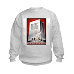Books Are Weapons Poster Art Kids Sweatshirt