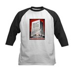 Books Are Weapons Poster Art Kids Baseball Jersey