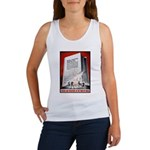 Books Are Weapons Poster Art Women's Tank Top