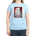 Books Are Weapons Poster Art Women's Pink T-Shirt