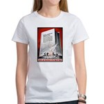 Books Are Weapons Poster Art Women's T-Shirt