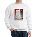 Books Are Weapons Poster (Front) Sweatshirt
