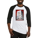 Books Are Weapons Poster Art Baseball Jersey