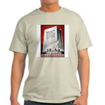 Books Are Weapons Poster Art Ash Grey T-Shirt
