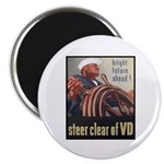 Steer Clear of VD Poster Art Magnet