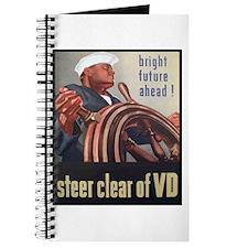 Steer Clear of VD Poster Art Journal