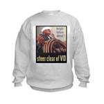 Steer Clear of VD Poster Art Kids Sweatshirt