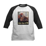 Steer Clear of VD Poster Art Kids Baseball Jersey