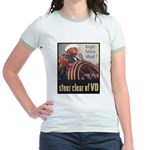 Steer Clear of VD Poster Art Jr. Ringer T-Shirt