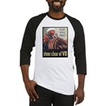 Steer Clear of VD Poster Art Baseball Jersey