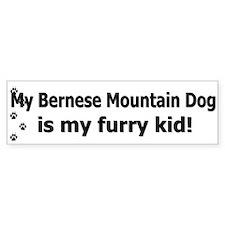 Bernese Mountain Dog Furry Kid Bumper Bumper Sticker