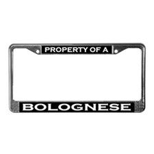 Property of Bolognese License Plate Frame