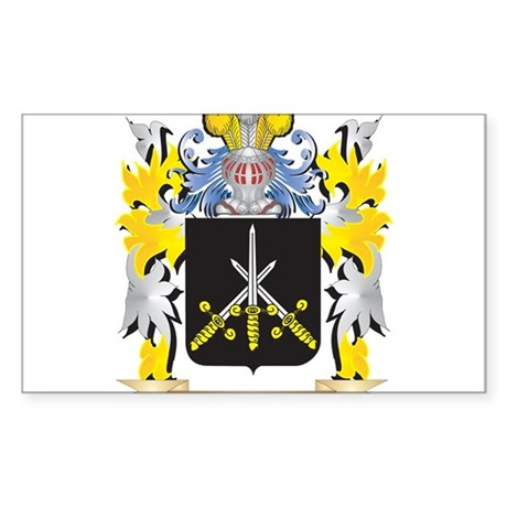Rawlings Family Crest - Coat of Arms Sticker