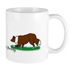 Border Collie Herding Mug