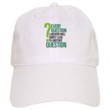 LOST Question Quote Baseball Cap
