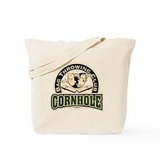 Cornhole Throwing Club Tote Bag