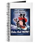 Don't Shiver Winter Poster Art Journal