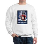 Don't Shiver Winter Poster (Front) Sweatshirt