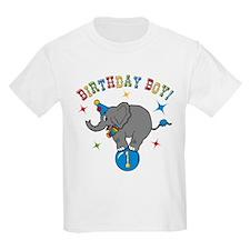 Circus Elelphant 1st Birthday Boy T-Shirt