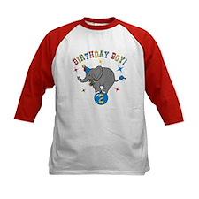 Circus Elephant 2nd Birthday Boy Tee
