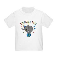 Circus Elelphant 3rd Birthday Boy T