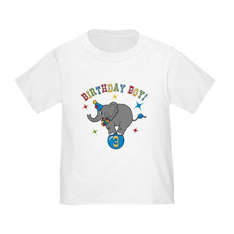 Circus Elelphant 3rd Birthday Boy Toddler T