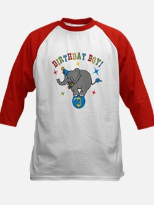 Circus Elelphant 3rd Birthday Boy Tee