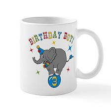 Circus Elelphant 3rd Birthday Boy Small Mug