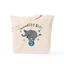 Circus Elelphant 3rd Birthday Boy Tote Bag