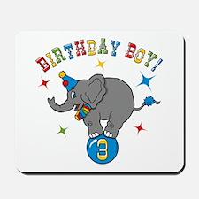 Circus Elelphant 3rd Birthday Boy Mousepad
