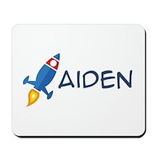 Aiden Rocket Ship Mousepad