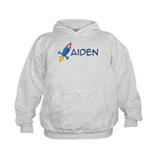 Aiden Rocket Ship Hoodie