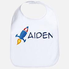Aiden Rocket Ship Bib
