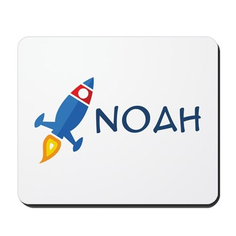 Noah Rocket Ship Mousepad