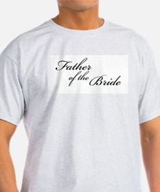 Father of the Bride (FF) Ash Grey T-Shirt