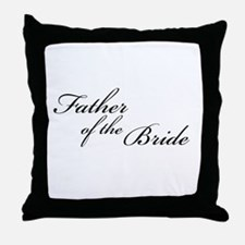 Father of the Bride (FF) Throw Pillow