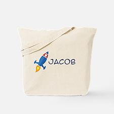 Jacob Rocket Ship Tote Bag