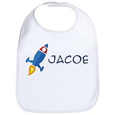 Jacob Rocket Ship Bib