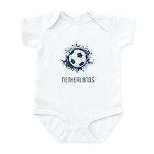Netherlands Football Infant Bodysuit