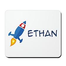 Ethan Rocket Ship Mousepad