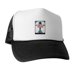 Big Guns Talk Poster Art Trucker Hat