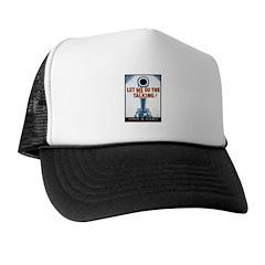 Big Guns Talk Poster Art Trucker Hat