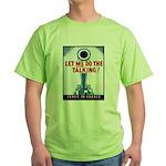 Big Guns Talk Poster Art Green T-Shirt