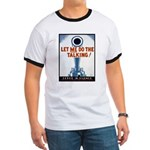 Big Guns Talk Poster Art Ringer T