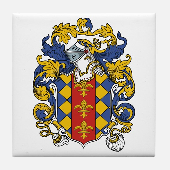 Sawyer Coat of Arms Tile Coaster