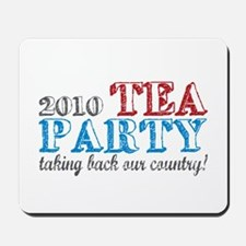 Tea Party 2010 Elections Mousepad