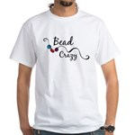 Bead Crazy II White T-Shirt